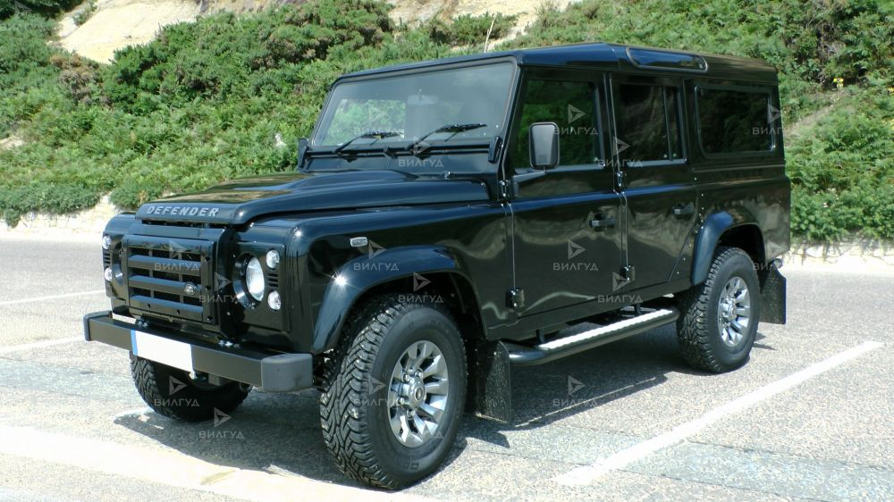 Диагностика ошибок сканером Land Rover Defender в Липецке